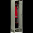 Armadietto spogliatoio monoblocco ad 1 posto cm. 38x35x180h