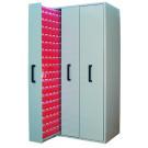 Armadio estrazione verticale porta minuteria per officina
