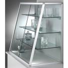 Vetrina espositiva con ripiani regolabili da negozio cm. 99x50x100h