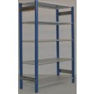 Scaffale in metallo verniciato per magazzino scaffale metallico cm. 120x50x250h