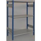 Scaffalatura industriale scaffalatura metallica cm. 120x50x150h