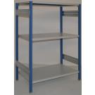Scaffalatura da magazzino scaffalatura industriale cm. 120x70x150h