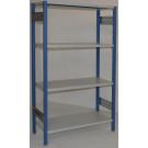 Scaffalatura metallica per magazzino Verniciata cm. 100x30x200h