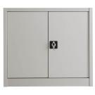 Sopralzo armadio basso con ante battenti in metallo per archivio documenti cm. 100x45x85h