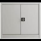 Sopralzo colore grigio per armadio ad ante battenti da ufficio operativo cm. 100x45x85h