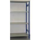 MODULO AGGIUNTIVO scaffalatura in metallo da magazzino Verniciata cm. 120x80x242h