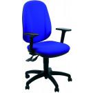 Poltrona per ufficio operativo con schienale regolabile
