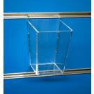 Porta oggetti in plexiglass dimensioni cm. 8x8x11h