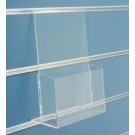 Pianetto porta brochure A4 in plexiglass