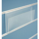 Pianetto porta cartoline in plexiglass dimensioni (lxp) cm. 40x12