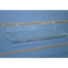 Pianetto porta oggetti in plexiglass dimensioni (lxp) cm. 40x15
