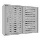 Sopralzo da armadio archivio ad ante scorrevoli verniciate e piani interni ad incastro cm. 120x35x90H
