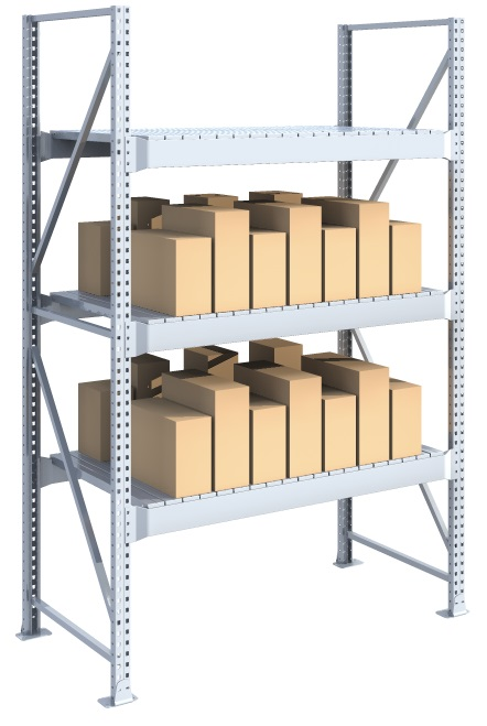 Scaffalatura porta pallets per carichi pesanti