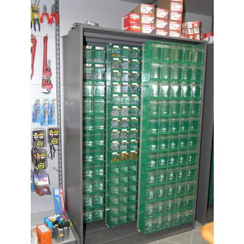 Scaffalature armadi e banchi da lavoro castellani shop for Armadietti metallo