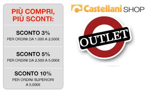 Scala sconti e outlet Castellani