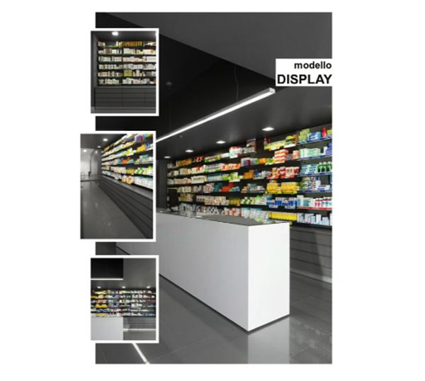 Arredamento completo negozio Castellani Shop