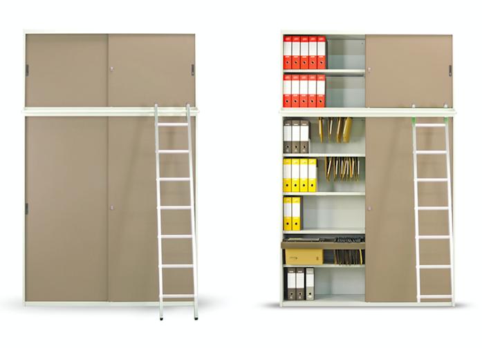 Libreria Ufficio Ante Scorrevoli : Armadi per ufficio e per archivio castellani shop
