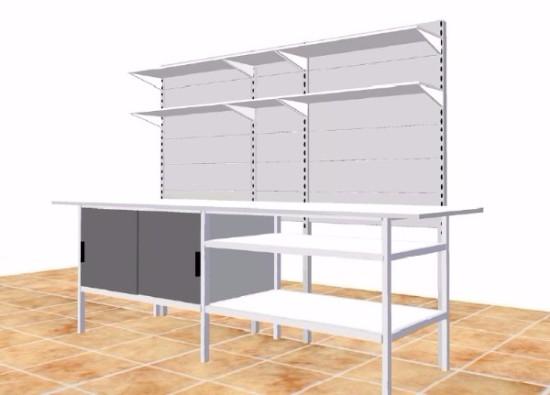 Banco Da Lavoro In Kit Di Montaggio : Banco da lavoro attrezzato su castellani shop castellani shop