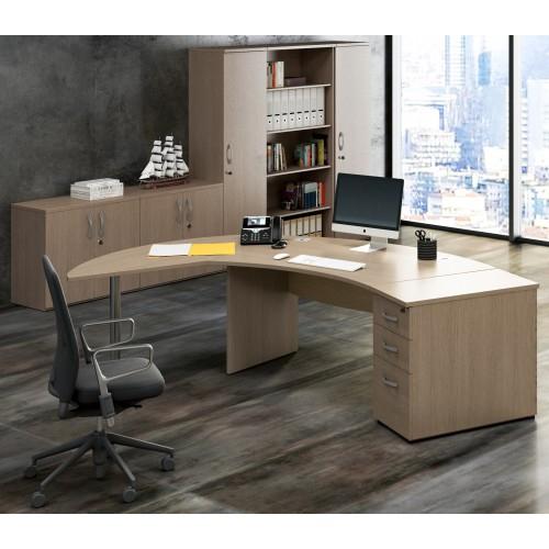 Tavoli e scrivanie da ufficio arredamenti completi da for Scrivanie mobili