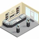 Come allestire negozi utilizzando le vetrine espositive