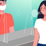 Vetri di protezione per distanziamento: affrontare l'emergenza sanitaria